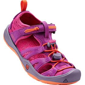 Keen Moxie Sandals Kids Purple Wine/Nasturtium